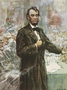 Abraham Lincoln by Arthur C. Michael