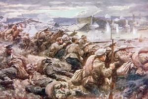 An Heroic Russian Rearguard Action in the Great Polish Retreat by Arthur C. Michael