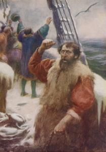"""It Was an Albatross, the Bird of Good Omen, and We Hailed it Joyfully"" by Arthur C. Michael"