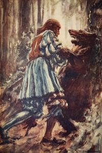 Once When Attacked by a She-Bear He Choked Her with His Bare Hands by Arthur C. Michael