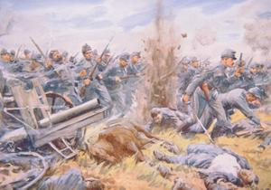 The Austrians at Bay before Lemberg, 1915 by Arthur C. Michael