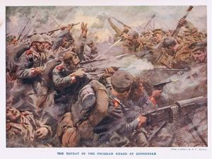 The Defeat of the Prussian Guard at Zonnebeke by Arthur C. Michael