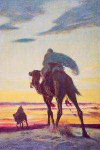 The Flight of Muhammad to Medina by Arthur C. Michael