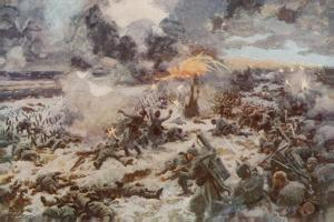 The Glory of France: Smashing a German Massed Attack at Verdun by Arthur C. Michael