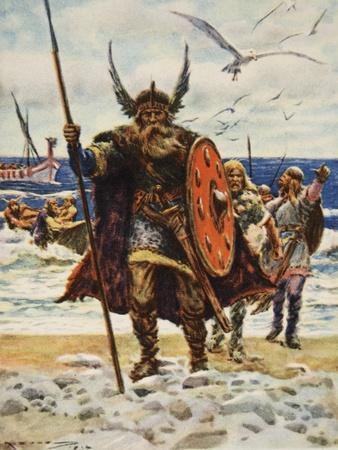 The Landing of the Vikings