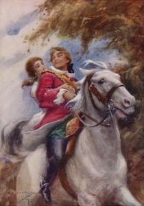 """"""" 'They'Ll Have Fleet Steeds That Follow!' Cried Young Lochinvar"""" by Arthur C. Michael"""