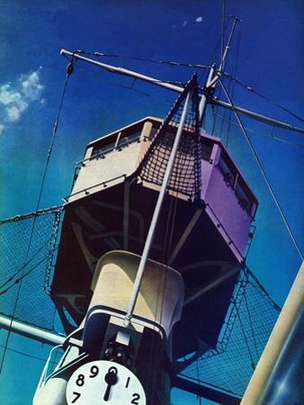 """Tower on Battleship,"" March 9, 1940"