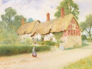 Ann Hathaway's Cottage by Arthur Claude Strachan