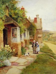 Broadway - the Puppy by Arthur Claude Strachan