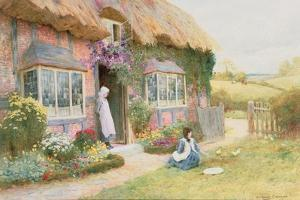 Peaceful Afternoon by Arthur Claude Strachan