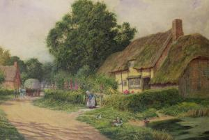 The Coming of the Haycart by Arthur Claude Strachan