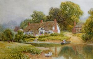 The Ferry by Arthur Claude Strachan
