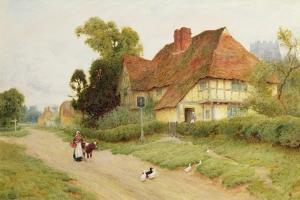The Village Inn by Arthur Claude Strachan