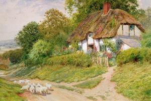 Watching the Sheep by Arthur Claude Strachan