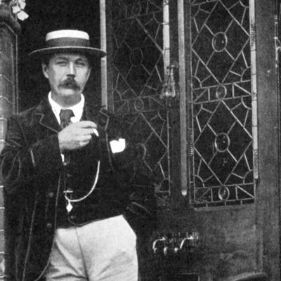 Arthur Conan Doyle, Scottish Writer, C1900--Giclee Print