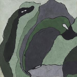 Composition in Green and Gray (Untitled), about 1930 by Arthur Dove