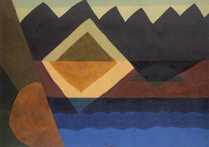Square on the Pond, 1942 by Arthur Dove