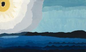 Sun on the Lake, 1938 by Arthur Dove