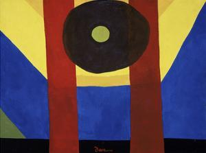 That Red One, 1944 by Arthur Dove