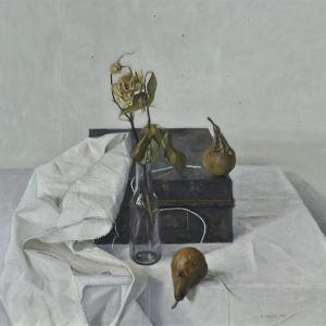The Box and Rotten Pears, 1990 by Arthur Easton