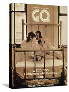 GQ Cover - April 1971 by Arthur Elgort