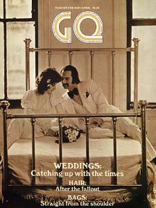 GQ Cover - April 1971 by Arthur Elgort