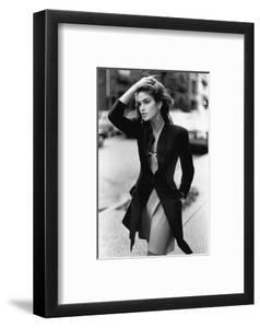Vogue - February 1988 - Cindy Crawford, 1988 by Arthur Elgort