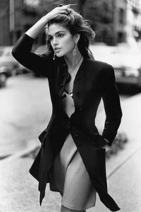 Vogue - February 1988 - Cindy Crawford, 1988 by Arthur Elgort