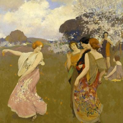 Spring Dance, C. 1917