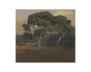 The Oaks by Arthur Frank Mathews