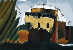 Tanks, 1938 by Arthur G^ Dove