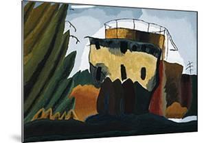 Tanks, 1938 by Arthur G^ Dove