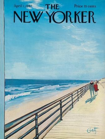 The New Yorker Cover - April 1, 1967