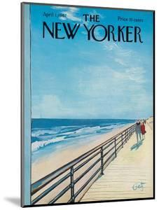 The New Yorker Cover - April 1, 1967 by Arthur Getz