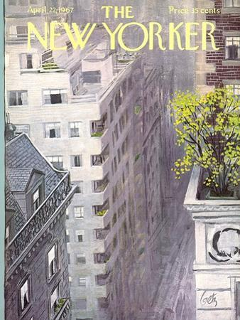 The New Yorker Cover - April 22, 1967