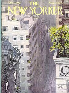 The New Yorker Cover - April 22, 1967 by Arthur Getz