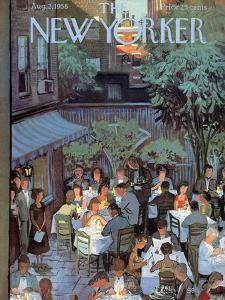 The New Yorker Cover - August 2, 1958 by Arthur Getz