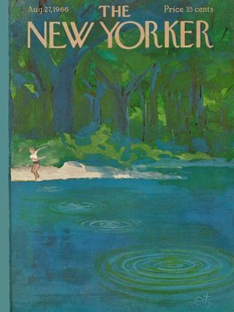 The New Yorker Cover - August 27, 1966