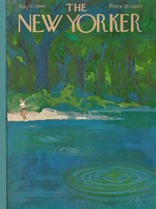 The New Yorker Cover - August 27, 1966 by Arthur Getz