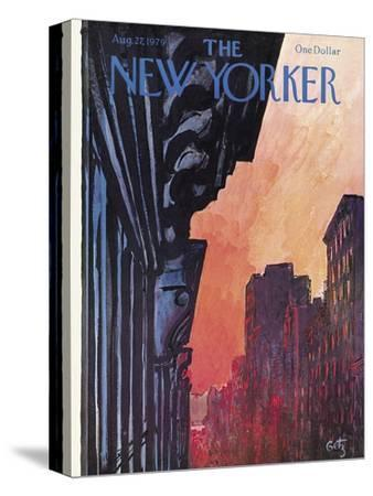 The New Yorker Cover - August 27, 1979