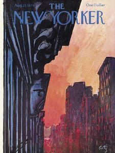 The New Yorker Cover - August 27, 1979 by Arthur Getz
