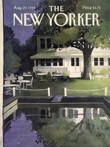 The New Yorker Cover - August 29, 1988 by Arthur Getz