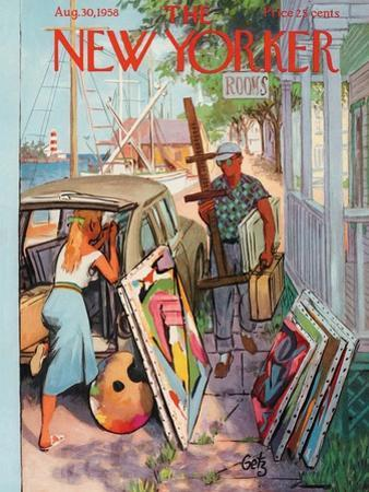 The New Yorker Cover - August 30, 1958