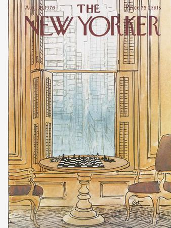 The New Yorker Cover - August 30, 1976