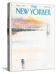 The New Yorker Cover - August 5, 1985 by Arthur Getz