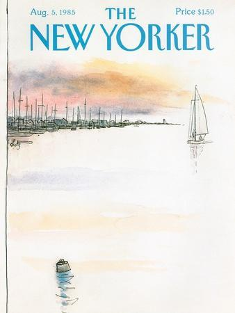 The New Yorker Cover - August 5, 1985