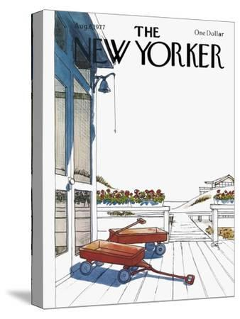 The New Yorker Cover - August 8, 1977