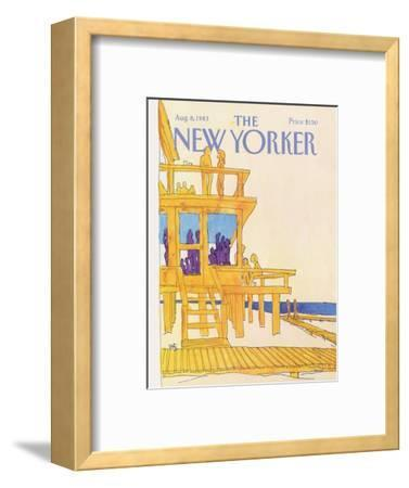 The New Yorker Cover - August 8, 1983