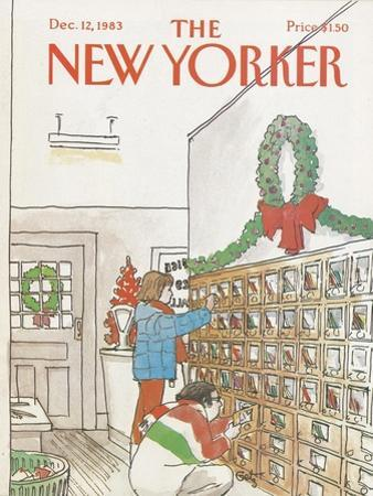 The New Yorker Cover - December 12, 1983