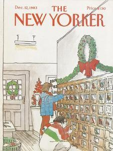 The New Yorker Cover - December 12, 1983 by Arthur Getz